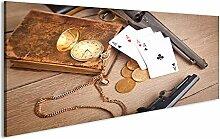bilderfelix® Acrylglasbild Poker Kartenspiel