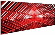 bilderfelix® Acrylglasbild Roter Turm von Innen