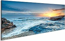 bilderfelix® Acrylglasbild Sonnenaufgang Meer