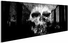 bilderfelix® Acrylglasbild Totenkopf Abstrakt