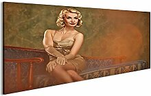 bilderfelix® Acrylglasbild Vintage Model Glasbild