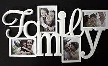 Bilderrahmen 4 Bilder Fotos Family Fotorahmen