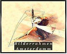 Bilderrahmen Amsterdam Holz Dekor Hell 50x75 cm