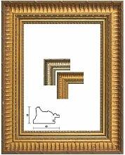 Bilderrahmen Antik L'Aquila in Gold 30x45 cm