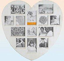 Bilderrahmen Antique Heart - Herz Bilderrahmen