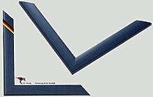 Bilderrahmen Artlohn Farbe: Blau Struktur 70x100