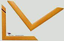 Bilderrahmen Artlohn Farbe: Gelb Orange 60x90 cm