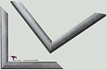 Bilderrahmen Artlohn Farbe: Silber Grau 70x100 cm