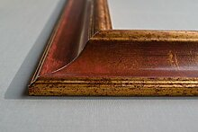 Bilderrahmen Athen - Rot Braun 60x60 cm 60x60 cm
