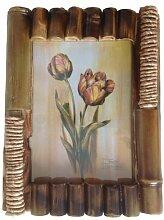 Bilderrahmen aus Bambus Design 11 a Holz Foto