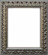 Bilderrahmen Barock Juwel - Silber 62x93cm 93x61cm