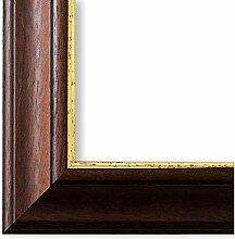 Bilderrahmen Braun Gold 40 x 60 cm 40x60 - Antik,