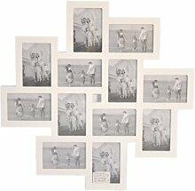 Bilderrahmen Collage aus Holz Sommerallee