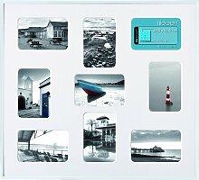 Bilderrahmen, Collage, Nielsen Pixel, Silber ma