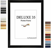 Bilderrahmen DELUXE35 60x90 oder 90x60 cm in WEISS