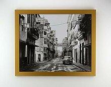 Bilderrahmen Diamond 61x91,5 cm Gold Matt Optik