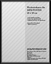 Bilderrahmen f. Mini Poster - Größe 40 x 50 cm,