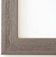 Bilderrahmen Florenz Grau 4,0 - Über 100 Größen