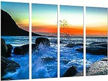 Bilderrahmen Fotogalerie mehrfarbig 131 x 62 cm