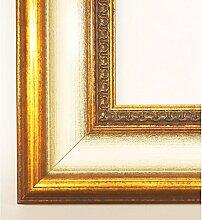 Bilderrahmen Fürth 6,0 - Gold mit Weiß - LR - 20