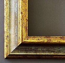 Bilderrahmen Grau Gold - 50 x 90 cm mit