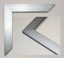 Bilderrahmen Hamburg - Silber 50x100cm 100x50cm