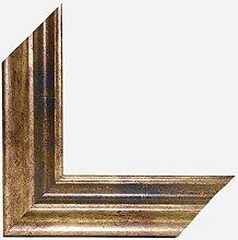 Bilderrahmen HEBRON 70x100 oder 100x70 cm in GOLD