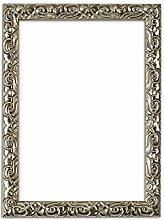 Bilderrahmen in Silber - Antik-Look mit