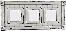 Bilderrahmen Industrial Vintage Design 23x52x2cm grau Container Style