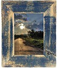 Bilderrahmen Landhaus dunkelblau 20x30 cm