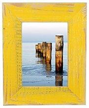Bilderrahmen Landhaus gelb 20x30 cm