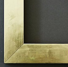 Bilderrahmen Lecce Gold 3,9 - mit Passepartout in