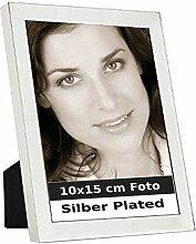 Bilderrahmen Manila 10x15 cm Foto Silber Plated