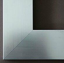 Bilderrahmen Novara Silber 7,0 - mit Passepartout