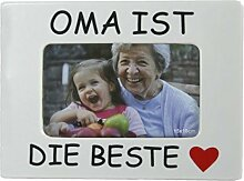 Bilderrahmen Oma ist die Beste für Fotos bis 10 x