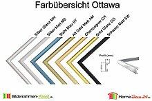Bilderrahmen Ottawa Echt Aluminium Posterrahmen