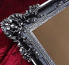 Bilderrahmen Rahmen Schwarz / Silber Dualcolor