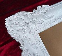 Bilderrahmen Rahmen Weiß / Silber Dualcolor 96x57