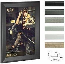 Bilderrahmen RICO schmal mit Acrylglas 80x80cm