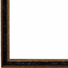 Bilderrahmen Schwarz Braun Gold 50 x 50 cm -