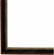 Bilderrahmen Schwarz Braun Silber 50 x 60 cm -