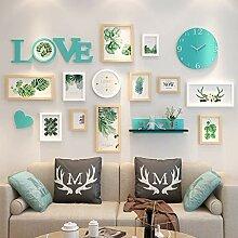 Bilderrahmen-Set aus Holz zur Wandmontage - Home