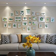 Bilderrahmen-Set aus Holz zur Wandmontage Home
