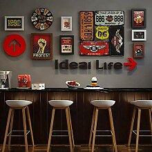 Bilderrahmen Set für Wanddekoration, Vintage