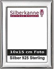 Bilderrahmen Silber 925 Berlin für 10x15 cm Foto