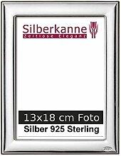 Bilderrahmen Silber 925 Berlin für 13x18 cm Fotos