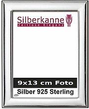 Bilderrahmen Silber 925 Berlin für 9x13 cm Foto