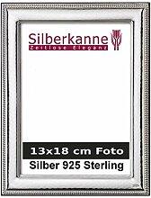 Bilderrahmen Silber 925 für 13x18 cm Fotos mit