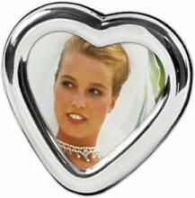 Bilderrahmen Silber 925 Herz 6x6 cm Foto