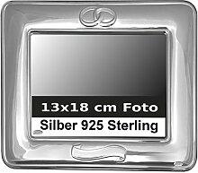 Bilderrahmen Silber 925 Sterling Hochzeit